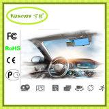 De dubbele Nok van het Streepje van de Auto HD 1080P van de Lens Volledige, Auto DVR met GPS Ldws Fcws Adas