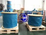 Edelstahl-Drahtseil 6X7+FC-2mm, 6X19+FC-3mm, 7X7-0.5mm, 7X19-1mm, 1X19-0.5mm