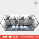 China prefabricó la casa modular del envase para el tocador público