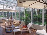 Fehlerfreies Beweis-Laminat-ausgeglichenes Glassunroom-Dach