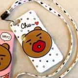 Аргументы за iPhone6 горячего медведя мягкое TPU шаржа способа милого