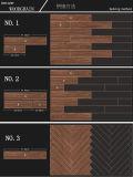 Prix de plancher commercial durable de cliquetis de PVC de couplage de décoration