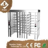 Puerta de barrera de rotación automática de altura simple Ss304
