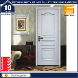 Portes en bois intérieures de luxe avec l'installation en verre/ingénierie