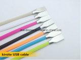 De Kabel van de Gegevens van de micro- USB Lader van de Kabel voor Cel van de Melkweg van Samsung en Telefoons 6 6s/5s