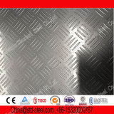 La Chine 201 plaque Checkered de l'acier inoxydable 202 316