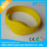 Microplaqueta do Wristband Ntag213 do silicone da microplaqueta de NFC RFID para eventos
