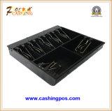 Cajón negro del efectivo del metal de la calidad para el sistema Mk-460 de la posición