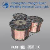 """DIN Sg2の銅の上塗を施してある溶接ワイヤ0.040 """" (1.0mm)"""