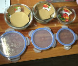 Articolo da cucina rotondo medio di alta qualità Kb-Hn0582 della ciotola di vetro