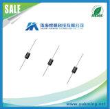 Componente electrónico 1n4007-E3 \ 54 del diodo de rectificador para la asamblea del PWB