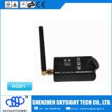Transmissor video sem fio de Sky-HD01 Aio 400MW 32CH Fpv e câmera de 1080P HD junto