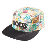 Sublimação Flora Snapback New Fashion Era Boné de beisebol