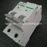 выключатель DC автомата защити цепи DC 2p Non поляризовыванный с сертификатами TUV от 1A к 63A