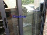 Алюминиевая раздвижная дверь с Flyscreen для установки рынка Австралии на место