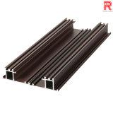 Profil en bois des graines extrusion en aluminium/en aluminium pour le guichet (RA-015)