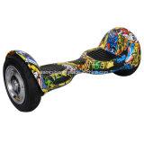 rueda de equilibrio Hoverboard eléctrico de la vespa dos del uno mismo 10inch con la batería de Samsung