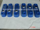 De Dekking van het Aluminium van het Afgietsel van de matrijs met Geschilderd Blauw
