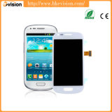 Outer branco LCD Screen Glass Lens Repair para Samsung Galaxy S3 Mini GT I8190