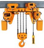Grua elétrica da proteção de uma sobrecarga de 7.5 toneladas com baixa altura livre