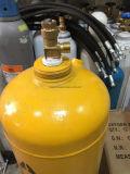 Cilindro de gás do acetileno ISO9809-3 com válvula