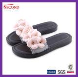 Белые сандалии PVC Rose женщин цвета