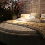 Ткань Круглый Спальня Кровать (305)