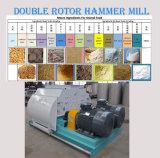 飼料のための穀物の穀物材料が付いている二重モーター良い粉砕のPulverizer