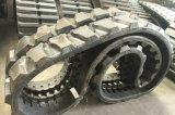 Pistes en caoutchouc de machines de construction pour l'excavatrice/machine à paver