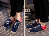 方法様式のキャンバスのジュートの麻ロープの靴(MD 05)