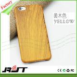 Caixa dura do telefone móvel do PC da grão de madeira móvel dos acessórios para o iPhone 6s