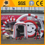 Weißes Inflatable Air Arch mit Logos (BMAC29)