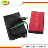 ハードディスクの容器1tbのHDDのケースSATAのハード・ドライブボックス、外部HDD機構