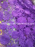 Spitze-Gewebe der Material-100%Polyester für Frauen-Kleid