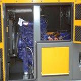 con il generatore diesel silenzioso del motore 1106A-70tg1 della Perkins per uso domestico con il pannello di controllo di Comap
