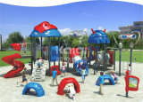 Спортивная площадка детей серии робота Kaiqi напольная с деятельностями при приключения