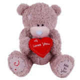 Peluche Brown Bear con Heart