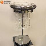 Lampe de Tableau d'abat-jour de bâti en cristal d'acier inoxydable et lumière modernes du relevé