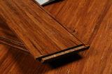 Suelo de bambú tejido filamento carbonizado