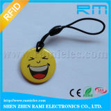 Chip-intelligenter Epoxy-Kleber RFID Keyfob HF-13.56kHz NFC