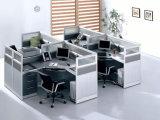 Sitio de trabajo redondo del marco modular del metal de los cubículos de la oficina de Hotselling Nepal (SZ-WS318)