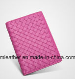 Portefeuille de passeport de mode Real Leather Women Travel