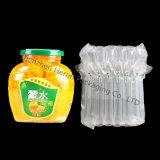 Plato de la soja que empaqueta con el bolso inflable del aire