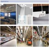 Von den hohen Platz-Beleuchtung-Waren Shelfs, LED-ersetzen hohes Bucht-Gefäß hohe Bucht-Lampe, 4FT 32W 140lm/W justierbare die Beleuchtung-Winkel
