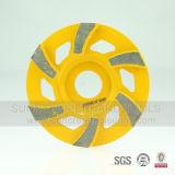 Тип абразивный диск этапа Helix бетона