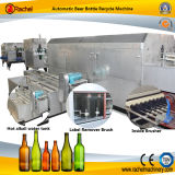 Automatischer Bierflasche-Kennsatz-Remover-saubere Maschine