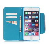 iPhone6 6sのための月光PU Leather Case Wallet Filp Cover