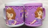 Tasse promotionnelle de tasse de PVC 3D de tasse en plastique de qualité (Mug-003)