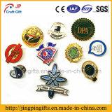 Insignia de encargo del Pin de la solapa del metal del logotipo con el esmalte suave