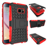 Nuovo Arrival Antiskid Shockproof Tire Pattern 3 in 1 Combo Mobile Phone Caso per Samsung S7